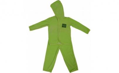 Costum catifea verde-lime