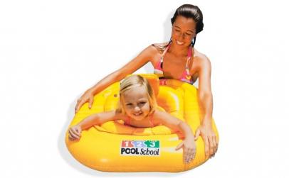 Colac gonflabil pentru copii, inot