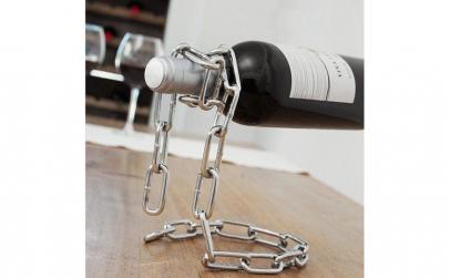 Suport metalic pentru sticle