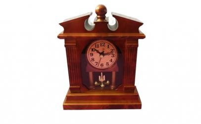 Ceas de masa pendula cu Rhythm, 19 cm,