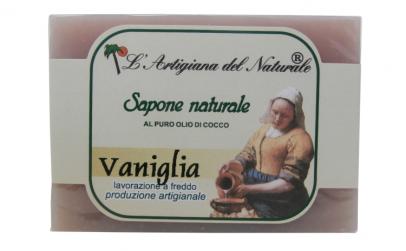 Sapun natural cu vanilie
