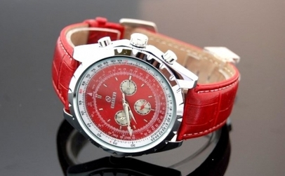 Ceas automatic Goer Red la 119 RON in loc de 250 RON