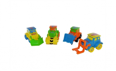 Set 4 masinute de constructie