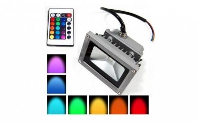 Proiector LED RGB -  putere 30W