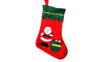Ciorap pentru cadouri, cu aplicatii