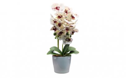 Flori artificiale decorative cu ghiveci