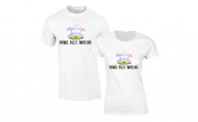 Set de tricouri pentru Cuplu Primul