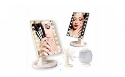 Oglinda make-up, machiaje