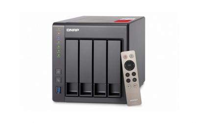 QNAP NAS 4BAY TWR J1900 2.0GHZ 2GB 2LAN