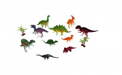 Dinozauri si covoras de joaca textil