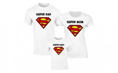 Set de tricouri pentru Familie Super