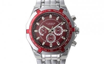 Ceas Curren 8084 JW404 rosu