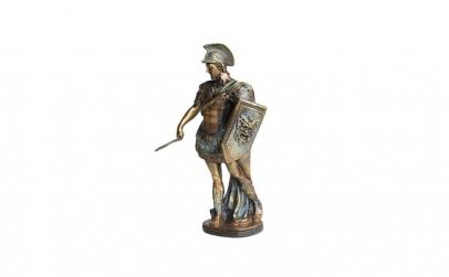 Statueta Soldat roman cu scut si spada