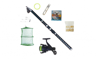 Set pescuit sportiv complet cu lanseta