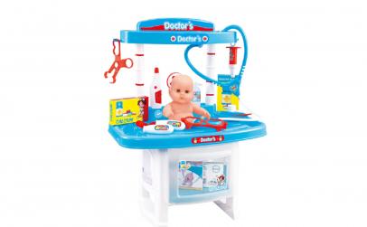 Set Doctor cu stand+12 accesorii+bebe