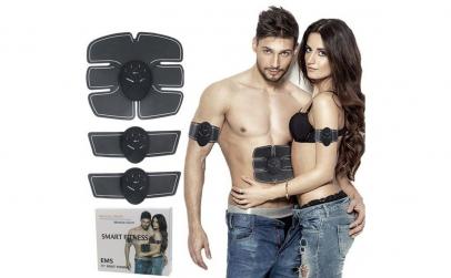 Kit Smart Fitness EMS electrostimulare