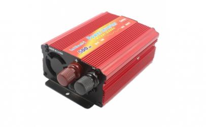 Invertor de tensiune 12V-220V, putere