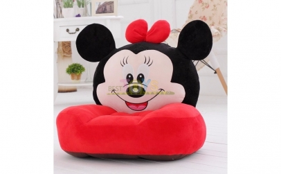 Fotoliu Din Plus Minnie Mouse Rosu