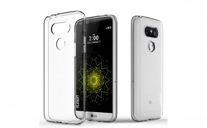 Husa Slim Silicon LG G5 Transparenta