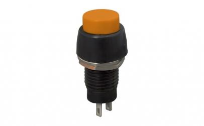 Buton 1 circuit 2A-250V OFF-(ON), orange