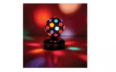 Glob disco lumini rotativ