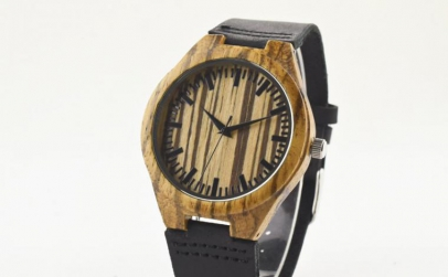 Ceas de Lemn Casual Wood Watch WD-39 Cur
