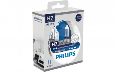 Set 2 becuri Philips 12v, 55w, H7