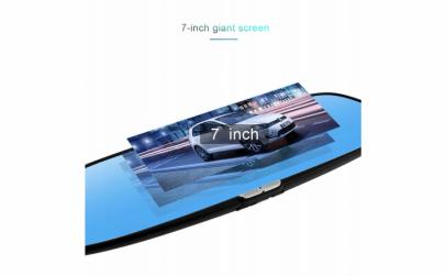 Camera Auto Oglinda TouchScreen DVR, Ecr