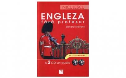 Engleza fara profesor + 2 CD-uri audio -