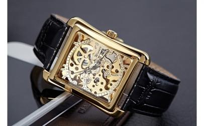 Ceas barbatesc Mecanic Winner Gold Edit