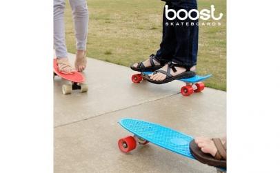 Placa de Skateboard Fish Boost (4 roti)