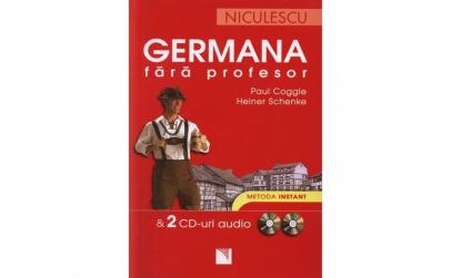 Germana fara profesor + 2 CD-uri audio -