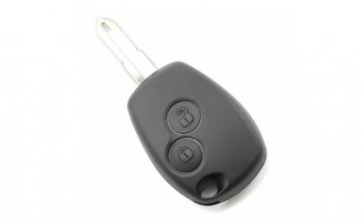 Dacia   Renault   Carcasa cheie cu 2