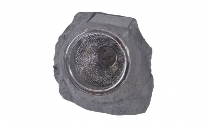 Lanterna solara LED - model piatra