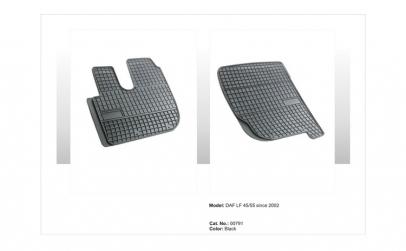 Covoare cauciuc DAF 45/55 2002-> (