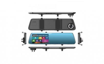 Camera Auto Oglinda Full HD cu
