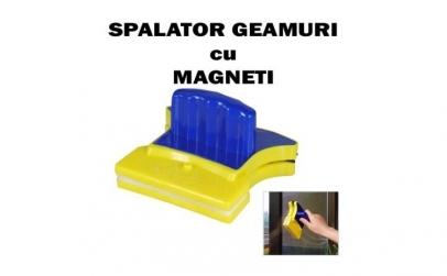 Dispozitiv spalare geamuri cu magneti