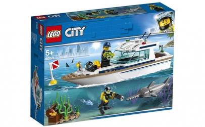 LEGO CITY IAHT PENTRU SCUFUNDARI 60221