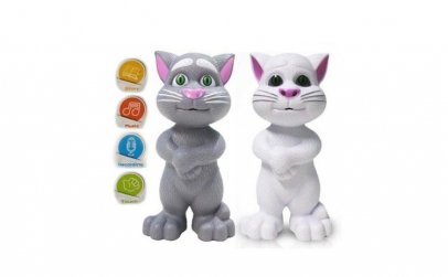 Jucarie Talking Tom, inteligent cat