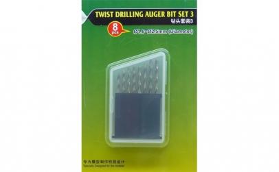 Twist Drilling Auger Bit set (#3