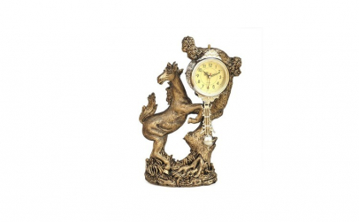 Statuie cal cu ceas, 43 cm