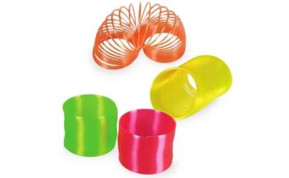 Jucarie Spirala Plastic Neon