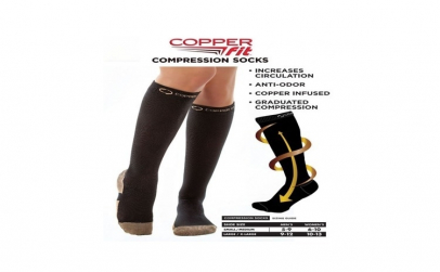 Ciorapi compresivi Copper Fit