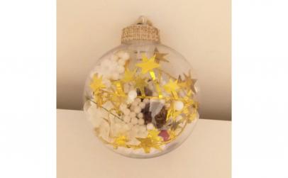 Glob cu lumini pentru brad multicolor
