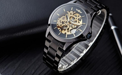 Ceas Automatic Winner Business Black