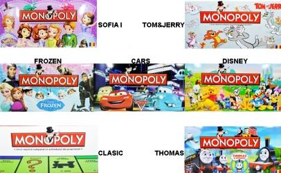 Joc Monopoly - diverse modele