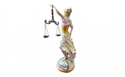 Statueta zeita justitiei Themis, 40 cm,