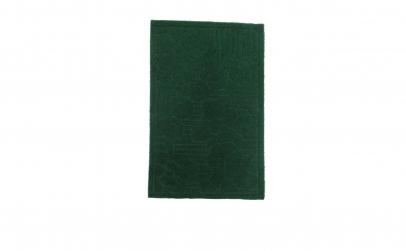 Covoras usa, textil cauciucat, verde