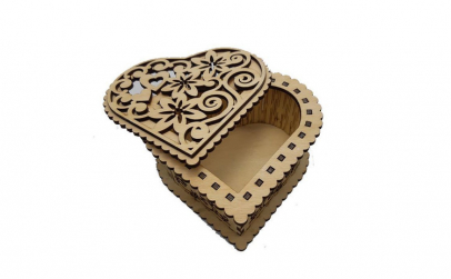 Cutie lemn Dantelata imimioara