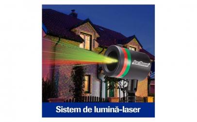 Proiector holografic laser + instalatie